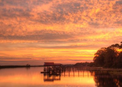 Intracoastal Waterway Sunset by Michelle Tinger