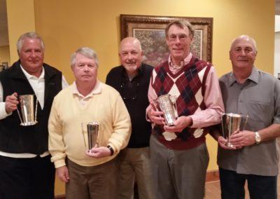 2017 Club Championship Flight Winners