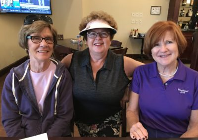 2018 Charm Tournament-Jo Ann Barton, Jenni Barratt, and Elaine Poston