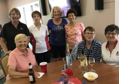 Memorial Tournament- Janet Keppler, Jo Larson, Karen Barnhart, Roz Dahlen, Louisa Cilento, and Betty Empson