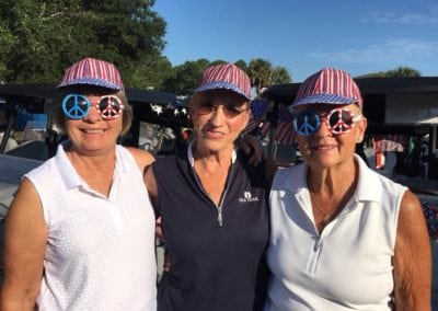 2018 Red White and Blue Tournament - Jo Larson, Joan Plotz and Diane Carcich